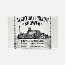 Alcatraz Shower Curtain Magnets