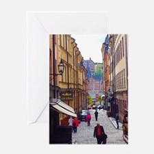 My Afternoon in Stockholm Greeting Cards