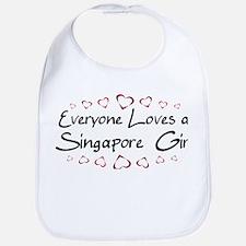 Singapore  Girl Bib