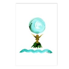 Hula Moon Postcards (Package of 8)
