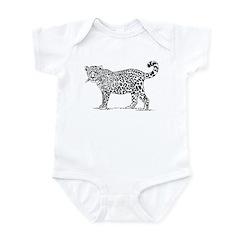 Leopard Infant Bodysuit