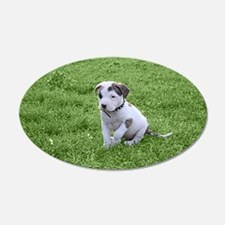 Pit Bull T-Bone Puppy Wall Decal