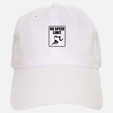 No Speed Limit Runner Baseball Baseball Baseball Cap