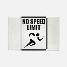 No Speed Limit Runner Magnets