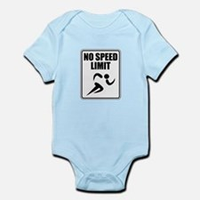 No Speed Limit Runner Body Suit