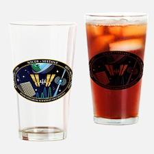 NICER SEXTANT Logo Drinking Glass