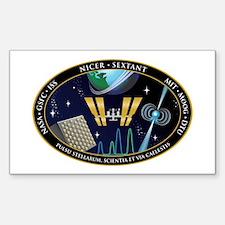 NICER SEXTANT Logo Decal