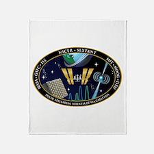 NICER SEXTANT Logo Throw Blanket