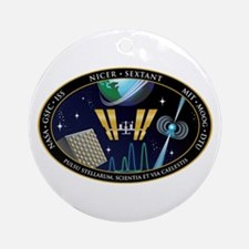 NICER SEXTANT Logo Round Ornament