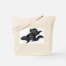 Chipmunks Tote Bag