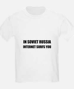 Soviet Russia Internet Surfs You T-Shirt