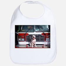 Pit Bull T-Bone Fire House Dog Bib