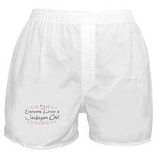 Waukegan Girl Boxer Shorts