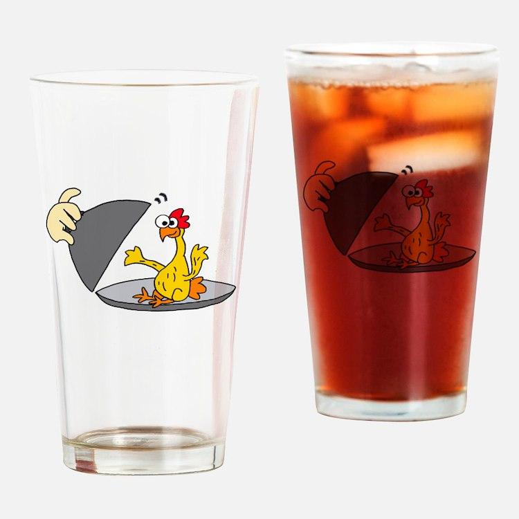Cute Dinner Drinking Glass