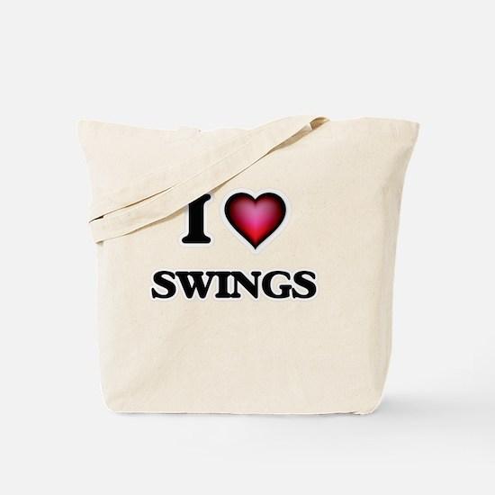 I love Swings Tote Bag