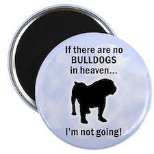 Bulldogs In Heaven Magnet