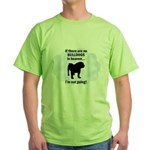 Bulldogs In Heaven Green T-Shirt