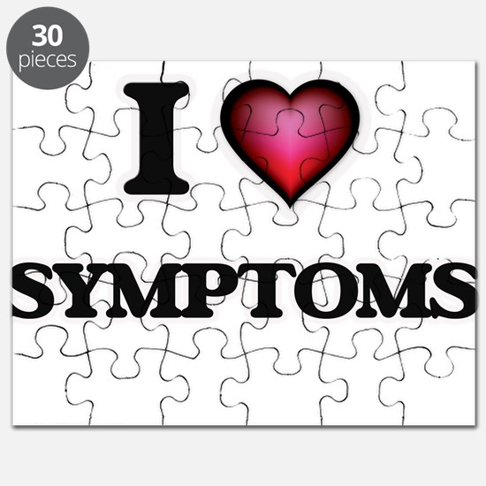 I love Symptoms Puzzle