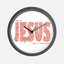 Who Is This Jesus Wall Clock