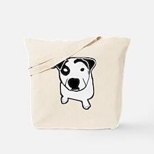 Pit Bull T-Bone Graphic Tote Bag