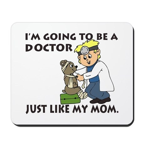 Future Doctor Mom Mousepad