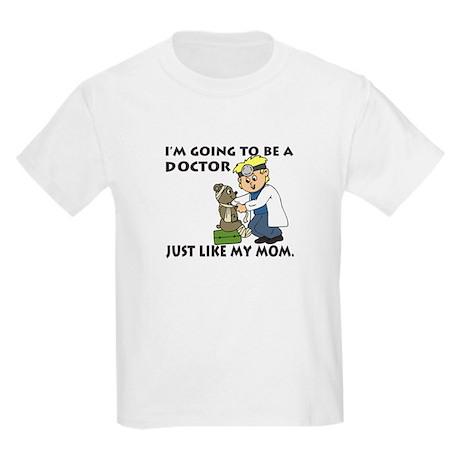 Future Doctor Mom Kids Light T-Shirt