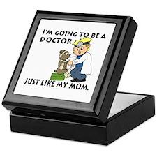 Future Doctor Mom Keepsake Box