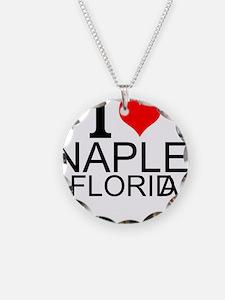 I Love Naples, Florida Necklace