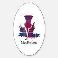 Thistle - MacFarlane Sticker (Oval)