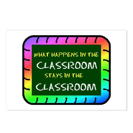 CLASSROOM Postcards (Package of 8)