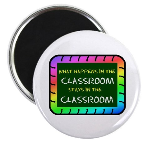 """CLASSROOM 2.25"""" Magnet (100 pack)"""