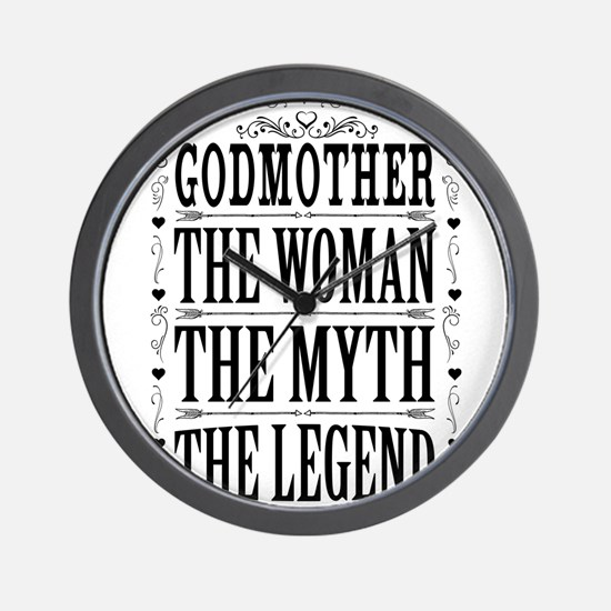 Godmother The Legend... Wall Clock