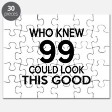 Who Knew 99 Could Look This Good Puzzle