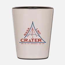 CRaTER Logo Shot Glass