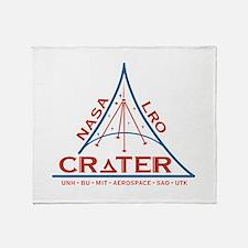 CRaTER Logo Throw Blanket