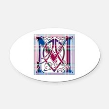 Monogram - MacFarlane Oval Car Magnet
