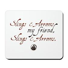 Slings & Arrows Mousepad