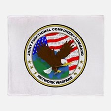 JFCCS Logo Throw Blanket