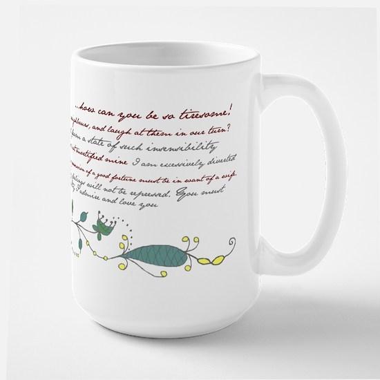 Pride & Prejudice - Mug (Multiple Quotes) Mugs