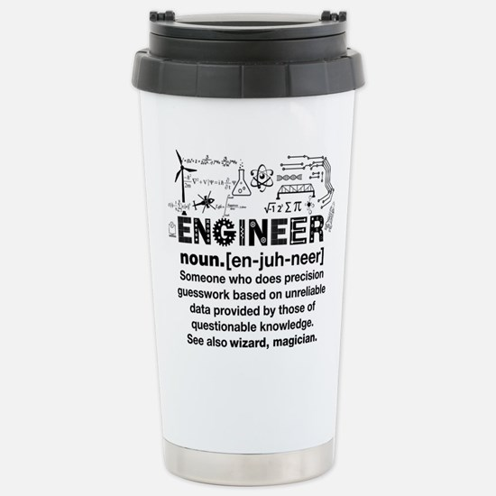 engineer Stainless Steel Travel Mug