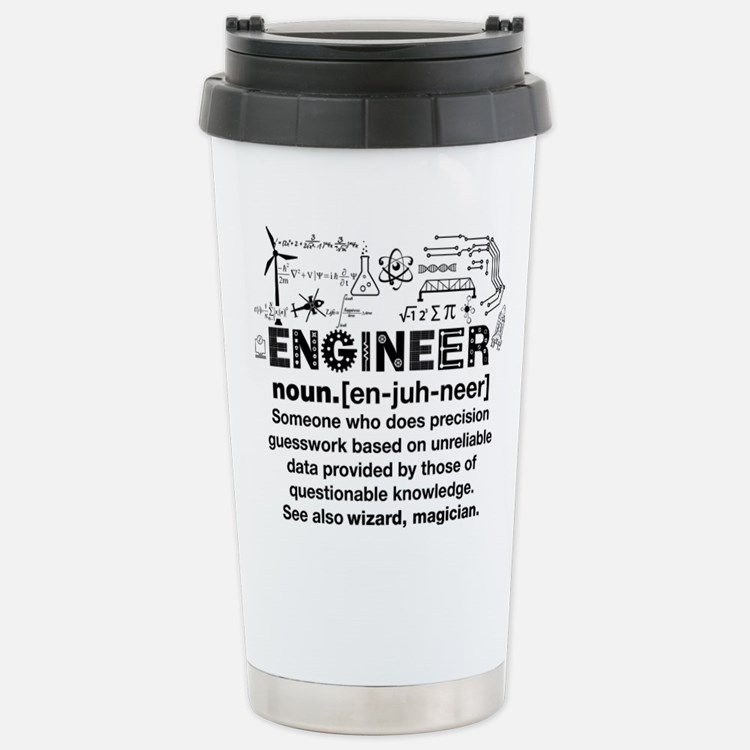engineer Stainless Steel Travel Mug