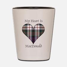 Heart-MacDonald dress Shot Glass