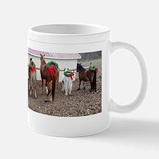 Christmas Horses Mugs