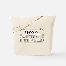 Oma The Legend... Tote Bag