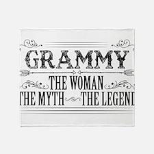Grammy The Legend... Throw Blanket