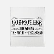 Godmother The Legend... Throw Blanket