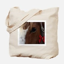 Horse Christmas Bell Tote Bag