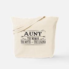 Aunt The Legend... Tote Bag