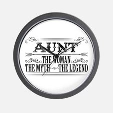 Aunt The Legend... Wall Clock