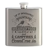 Mountains are calling Flask Bottles